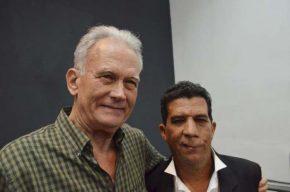 Emilio Jorge Rodríguez y Reynaldo García Blanco. Foto: Yander Zamora/Periódico Granma